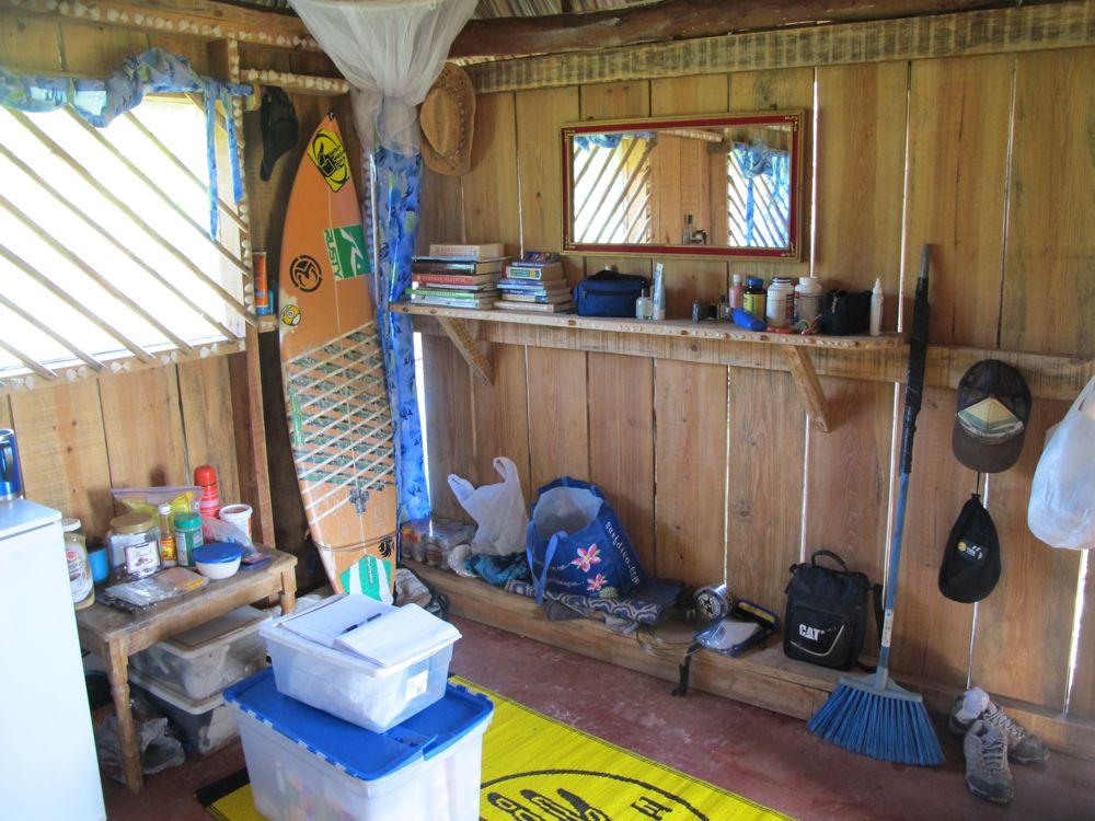 Building a cabana in nicaragua eucalyptus posts holly beck for How to build a cabana