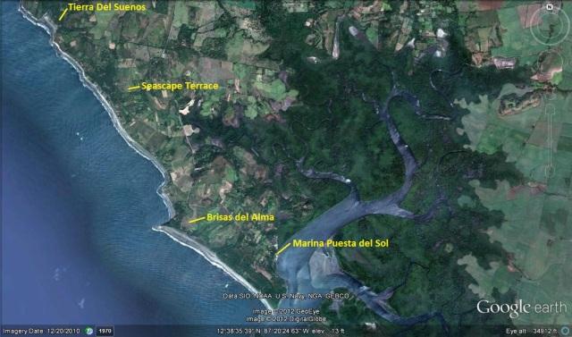 Suenos, Seascape and Brisas area GE