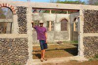Brisas House Progress in LateApril
