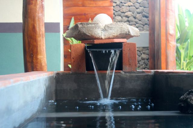 ecopool waterfall